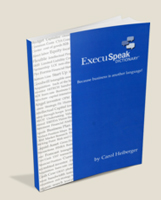 ExecuSpeak Dictionary Book Cover